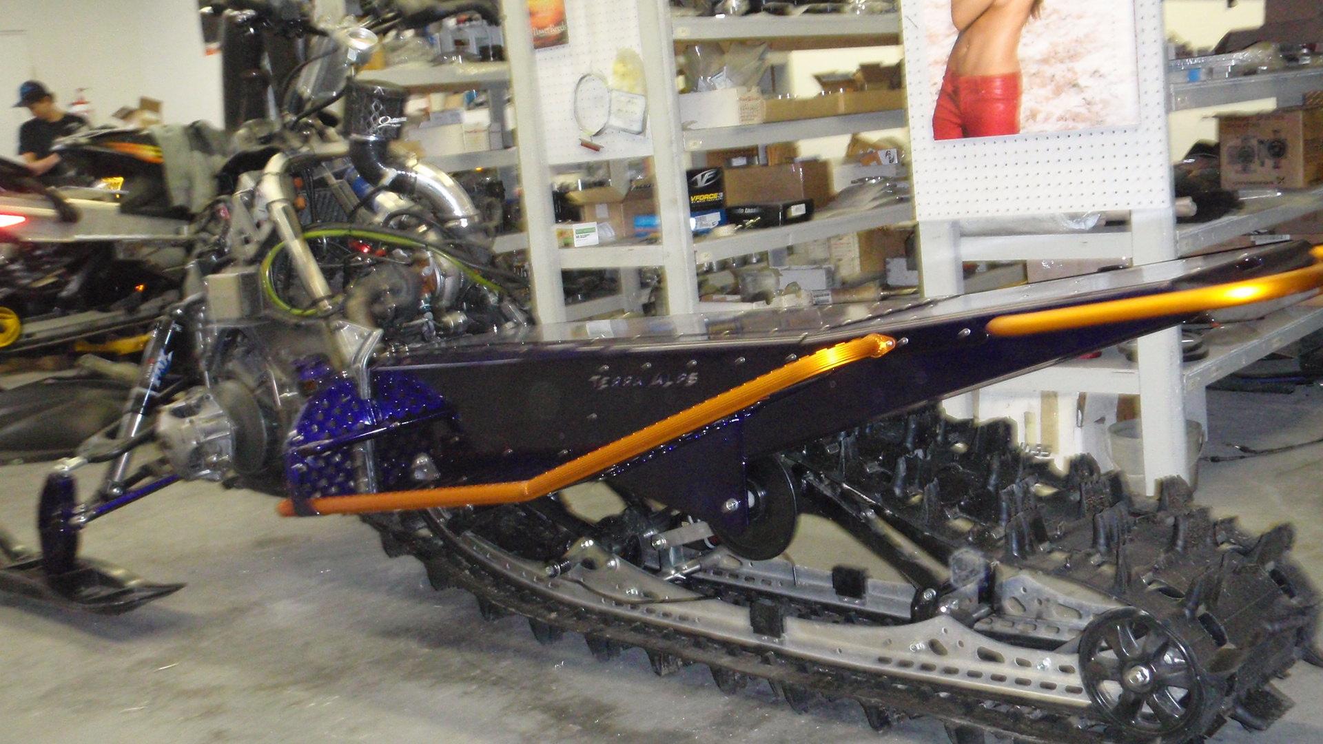 Custom nytro chassis for impulse turbo kits terra alps for Yamaha nytro tunnel